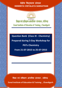 Question Bank (Class XI - Chemistry)