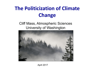 The Politicization of Climate Change