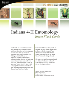 Indiana 4-H Entomology - Purdue Extension