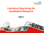 Qualitative Research - qualitativesearching