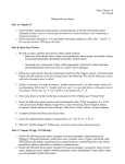 Music Theory IV Dr. Feezell Midterm Review Sheet