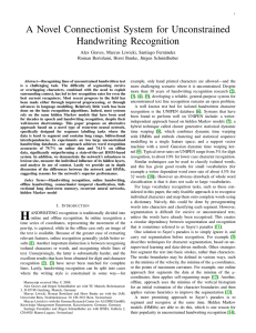 A Novel Connectionist System for Unconstrained Handwriting