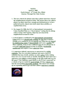 NOTES April 21, 2008 Earth Science – 6th Grade Mrs. Elliott