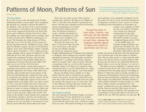 Patterns of Moon, Patterns of Sun