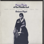 PIANO MUSIC OF THE MIDDLE EAST Amiram Rigai