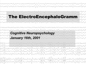 The History of the EEG