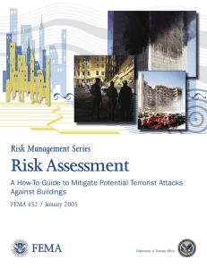 FEMA 452: Risk Assessment: A How-To Guide to Mitigate Potential
