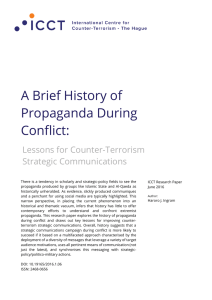 A Brief History of Propaganda During Conflict