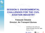 SESSION 5: ENVIRONMENTAL CHALLENGES FOR