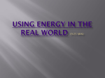 Chapter 10 Energy PowerPoint