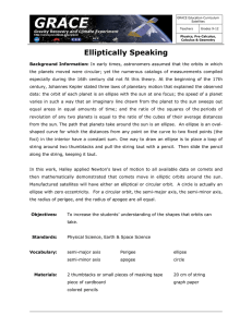 Elliptically Speaking - Center for Space Research