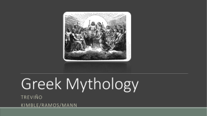 9.21 Greek Mythology