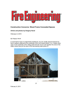 Construction Concerns: Wood Frame Concealed Spaces