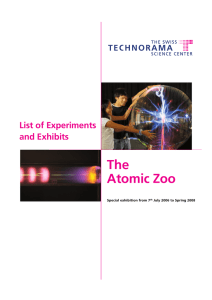 The Atomic Zoo