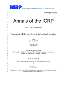 Diagnostic Reference Levels in Medical Imaging