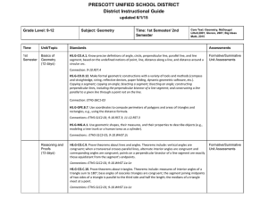 Geometry - Prescott Unified School District