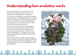 Darwin Today exhibition - Understanding how evolution