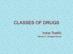 classes of drugs