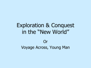 Exploration and Exploitation in the Americas