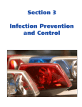 Section 3 Infection Prevention and Control