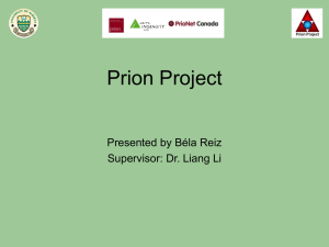 Mass Spectrometry of Prions