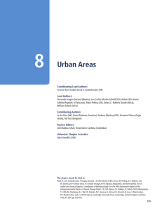 8 — Urban Areas - Climate Change 2014 Synthesis Report