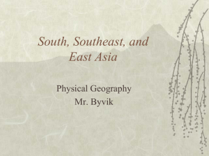 asia_phys geog PPT - Mr. Byvik Civics and Economics