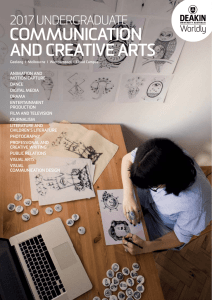 Communication and creative arts