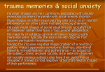 Importance of traumatic memories 3