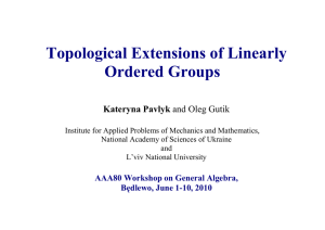 Topological Extensions of Linearly Ordered Groups