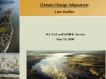 Climate Change Adaptation: Case Studies