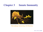 Chapter 3 Innate Immunity
