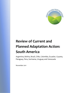 South America - International Institute for Sustainable Development