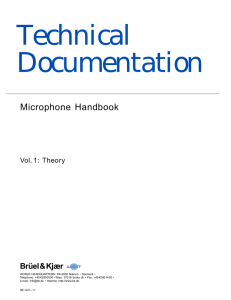 User Manual/Handbook: Microphone Handbook Volume 1