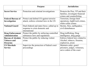 Chart - Law Enforcement - answers