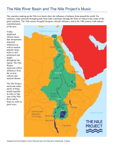 The Nile River Basin and The Nile Project`s Music