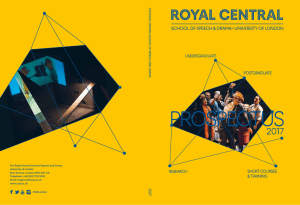 Royal central - Central School of Speech and Drama