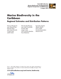 Marine Biodiversity in the Caribbean