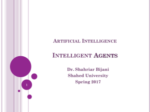 Agents-part1 - Dr Shahriar Bijani