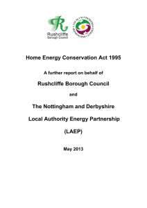 Local Authority Energy Partnership Home Energy Conservation Act