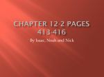 Chapter 12-2 pages 413-416