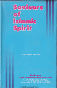 Saviours Of Islamic Spirit volume 03