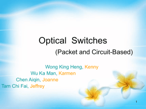Optical Switches (Packet and Circuit