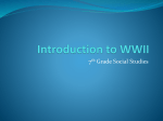 WWII PowerPoint notes - Whitewater Middle School