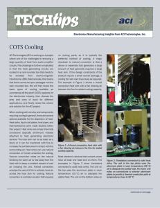 COTS Cooling - ACI Technologies, Inc.