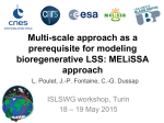 Multi-scale approach as a prerequisite for modeling bioregenerative