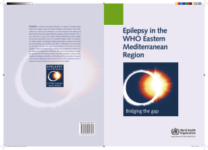 Epilepsy in the WHO Eastern Mediterranean Region