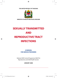 sexually transmitted and reproductive tract infections