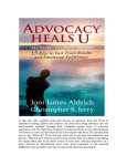 Advocacy Heals U Advocating 4 Advocates