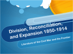 Division, Reconciliation, and Expansion 1850-1914